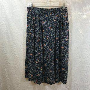 Appleseeds Fall mini Floral Skirt 12P